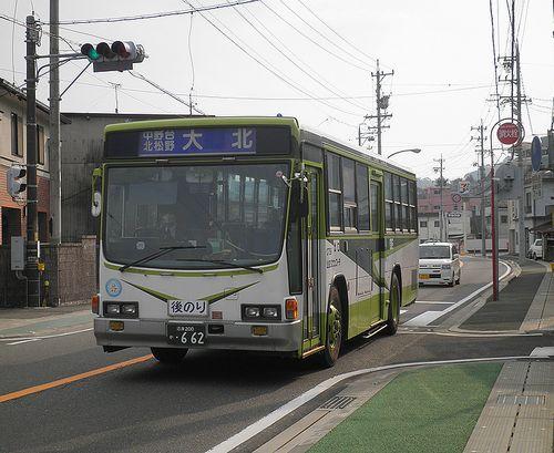 山交タウンコーチ(静岡県富士市中之郷)(2012年2月22日)