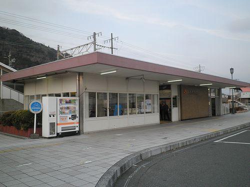 東海道本線新蒲原駅(静岡市清水区)(2012年2月22日)1