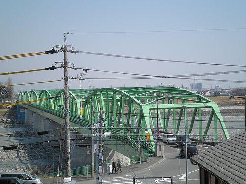 富士川橋西詰(静岡県富士市岩淵)(2014年3月16日)2