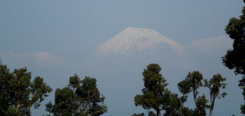 富士山(静岡県富士市・富士市役所付近から)(2012年2月22日)
