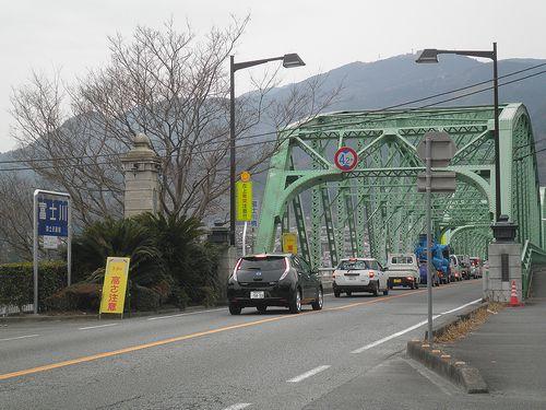 富士川橋東詰(静岡県富士市)(2012年2月22日)