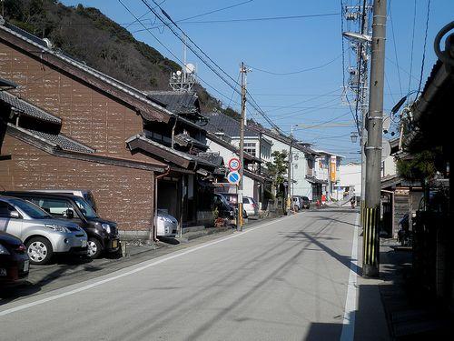旧東海道・蒲原宿(静岡市清水区蒲原)(2014年3月8日)2