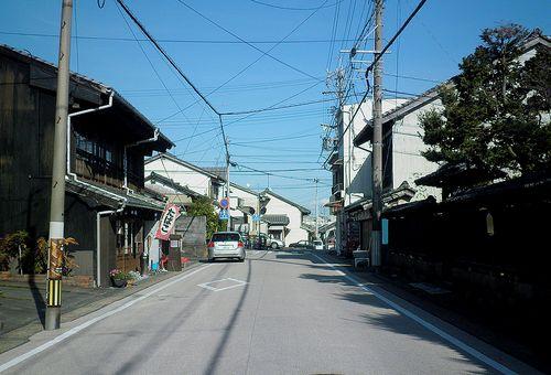 旧東海道・蒲原宿(静岡市清水区蒲原)(2014年3月8日)1