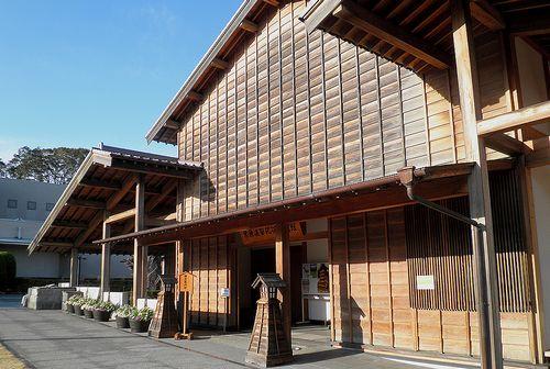 旧東海道・由比宿・由比宿交流館(静岡市清水区由比)(2014年3月8日)