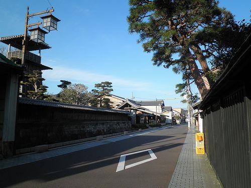 旧東海道・由比宿・由比本陣公園(静岡市清水区由比)(2014年3月8日)