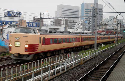 長ナノ183系「N101」編成(2013年9月8日・大久保駅)