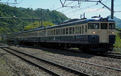 八トタ115系M9+M10編成(2013年5月3日・鳥沢駅)