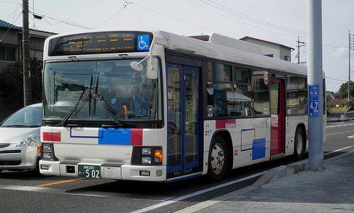 しずてつジャストラインバス(静岡市清水区興津中町)(2014年3月9日)