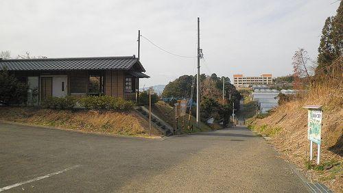 薩埵峠西口の休憩所(静岡市清水区興津東町)(2014年3月9日)2