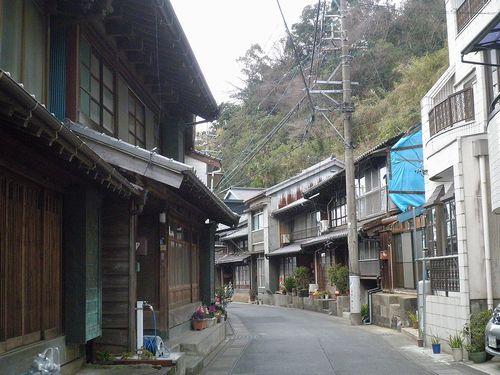 薩埵峠東口・間の宿倉沢(静岡市清水区由比西倉沢)(2014年3月9日)