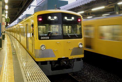 西武鉄道3000系・3009F(2014年6月6日・練馬駅)