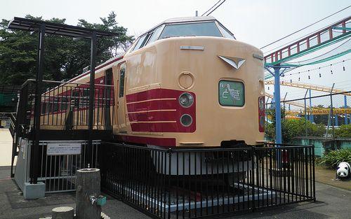 クハ183-1529(群馬県伊勢崎市・華蔵寺公園遊園地)(2014年6月20日)1