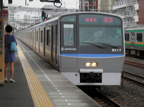相模鉄道8000系・8711F(2014年6月22日・平沼橋駅)