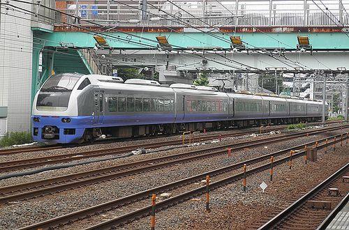 水カツE653系「K308」編成・急行「ぶらり鎌倉号」(2014年6月22日・横浜~保土ヶ谷間)2