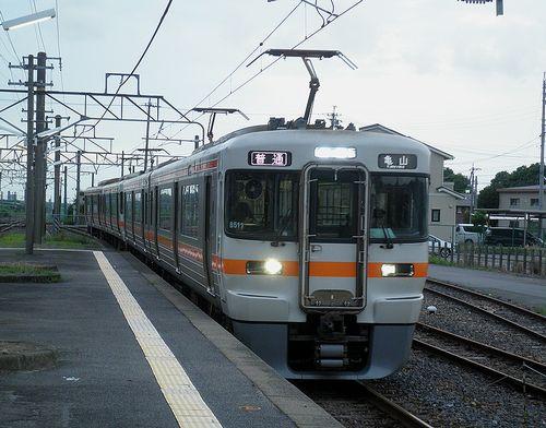 海シン313系1300番代・B511編成他4連(2014年6月28日・加佐登駅)