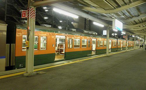 モハ113-5701(近キト・L07編成)(2014年6月29日・草津駅)