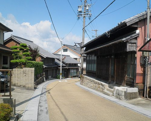 旧東海道・亀山宿(三重県亀山市)(2014年6月29日)