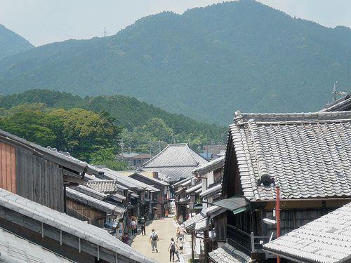 旧東海道・関宿(三重県亀山市)(2014年6月29日)