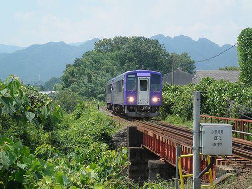 近カメ・キハ120形(亀山~関間・2014年6月29日)