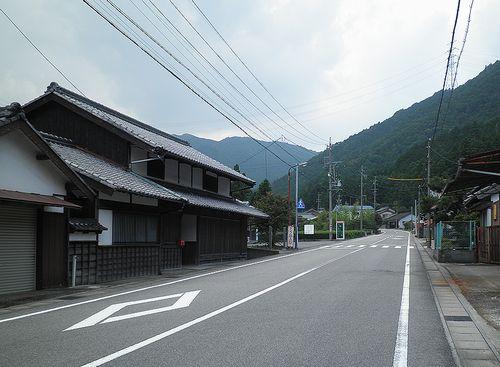 旧東海道・坂下宿(三重県亀山市)(2014年6月29日)