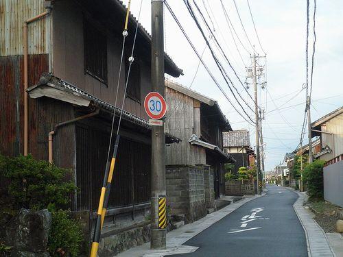 旧東海道・庄野宿(三重県鈴鹿市)(2014年6月29日)