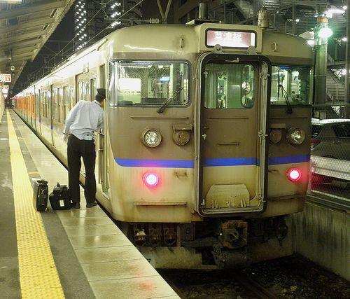 近キト・113系L07編成(クハ111-7755)(2014年6月29日・草津駅)