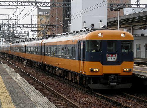 近鉄12200系+22600系特急(近鉄四日市駅・2014年6月28日)