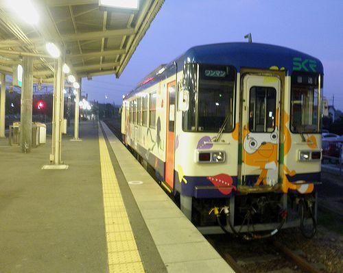 信楽高原鐵道SKR311(2014年6月29日・貴生川駅)