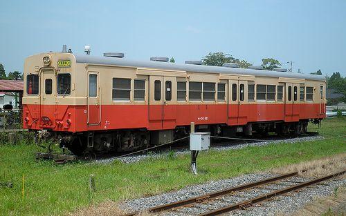 いすみ鉄道キハ30 62(2014年7月29日・国吉駅)