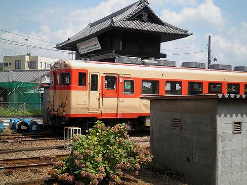 いすみ鉄道キハ28 2346(2014年7月29日・大多喜駅)