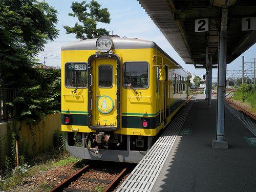 いすみ鉄道いすみ352(2014年7月29日・大原駅)