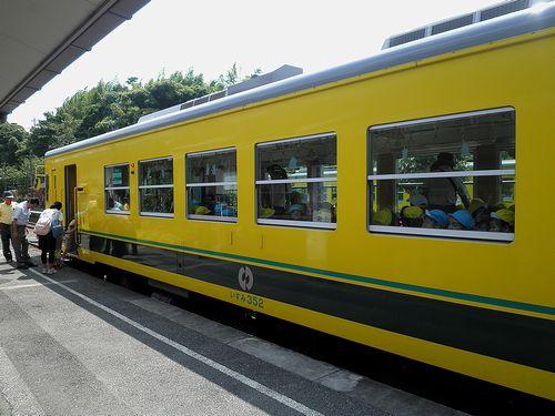 いすみ鉄道いすみ352(2014年7月29日・大多喜駅)