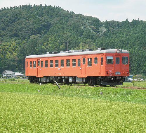 いすみ鉄道キハ52 125(2014年7月29日・西大原~上総東間)2