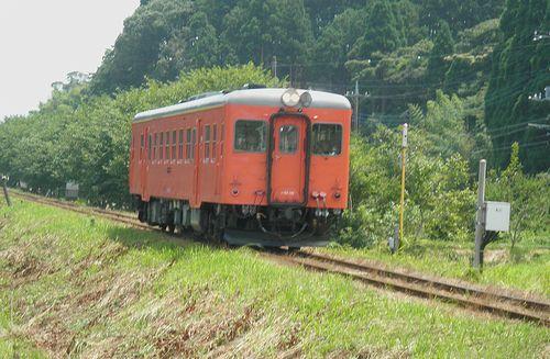 いすみ鉄道キハ52 125(2014年7月29日・上総東~新田野間)2