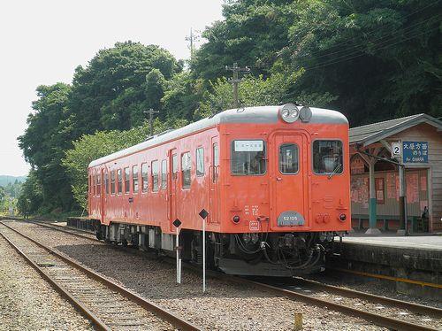 いすみ鉄道キハ52 125(2014年7月29日・大多喜駅)