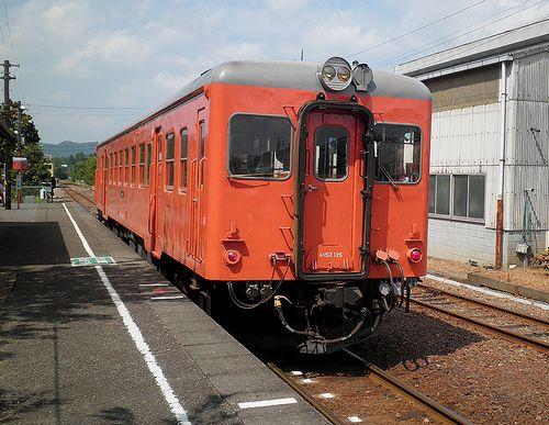 いすみ鉄道キハ52 125(2014年7月29日・大多喜駅)2