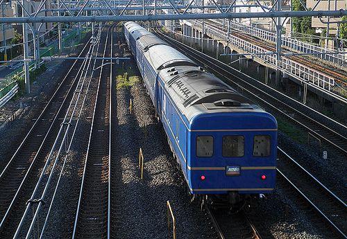特急「あけぼの」9022列車(2014年8月5日・川口~西川口間)