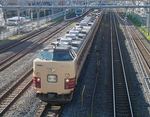 新ニイ485系「K1」編成(2014年8月3日・西川口~蕨間)
