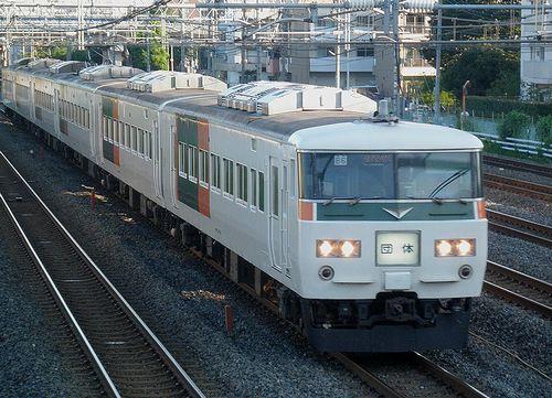 宮オオ185系「B6」編成(2014年8月3日・西川口~蕨間)