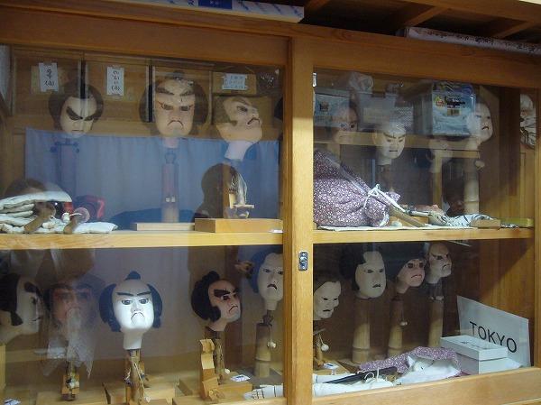 人形の頭たち26.2.21