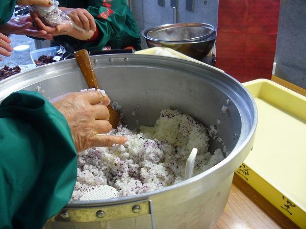 ご飯を炊いて 史跡祭り 26.3.30