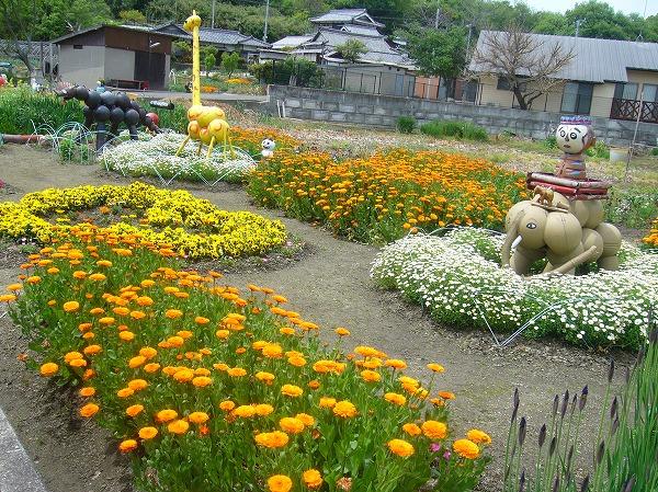お花畑 26.4.29