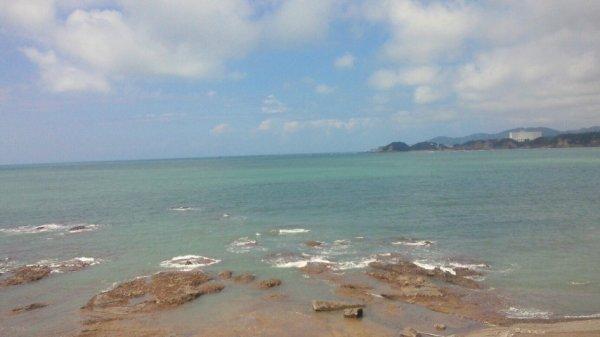癒しの海景色