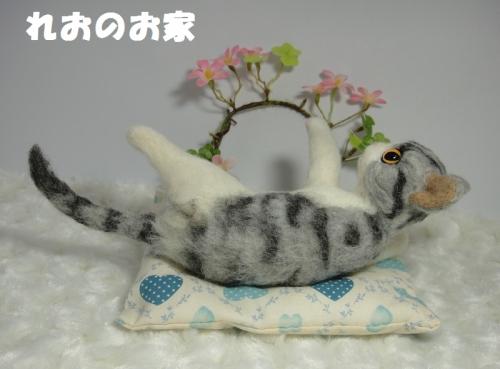 寝ころびサバトラ3