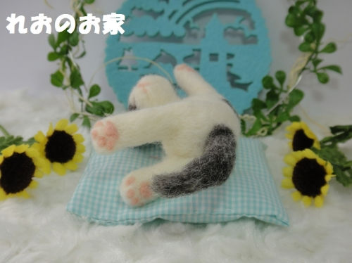 おねんねぶち猫2