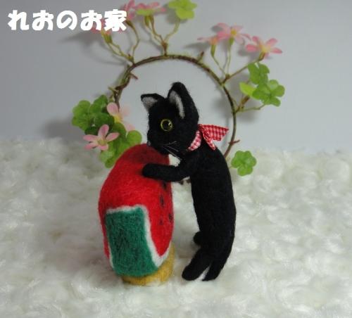 すいか黒猫2