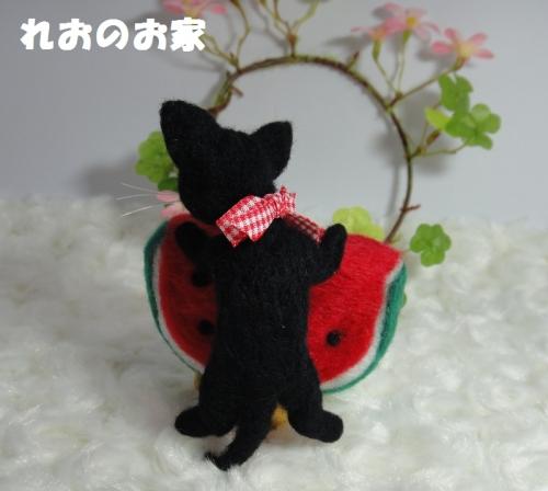 すいか黒猫3
