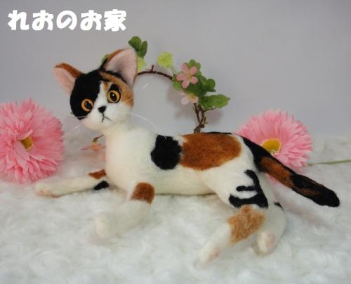 大きな三毛猫1