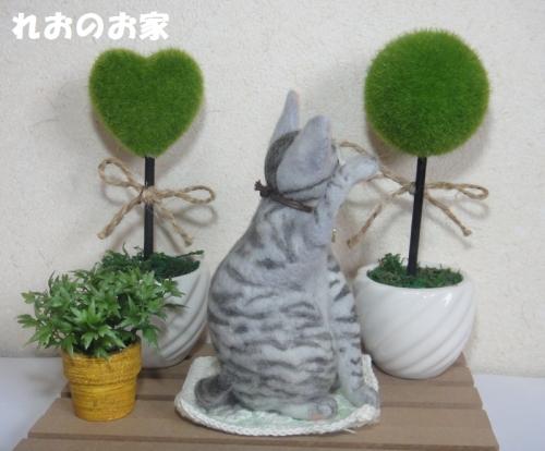 サバトラまねき猫2