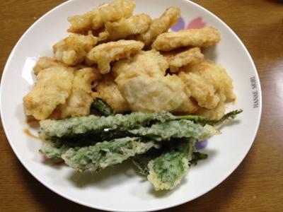 2014.4.2晩飯